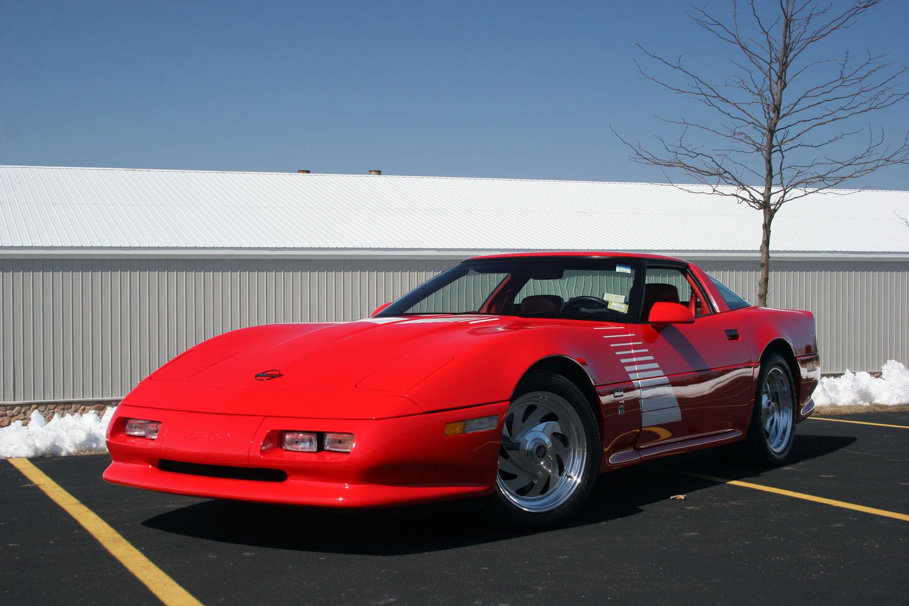 1990 Chevrolet Corvette   1990 Rick Mears ZR1 Corvette