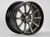 The Grip Equipped Dropkick by Forgeline with Custom Center and Satin Black Inner & Outer