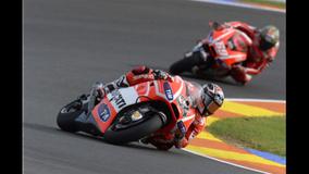 2013 MotoGP - Valencia - Hayden follow Dovi