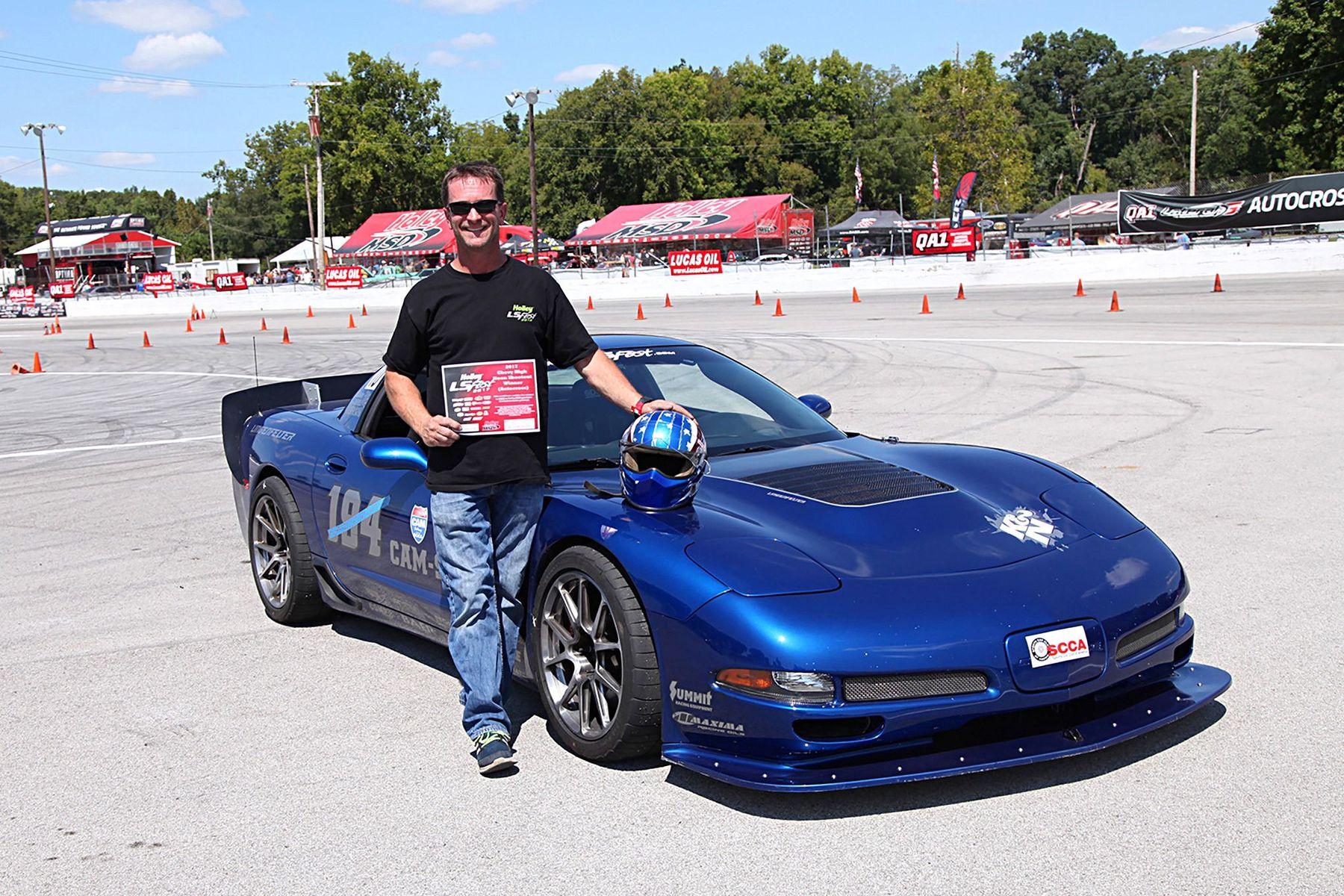2003 Chevrolet Corvette Z06   Danny Popp Wins High Noon Shootout at the 2017 LS Fest