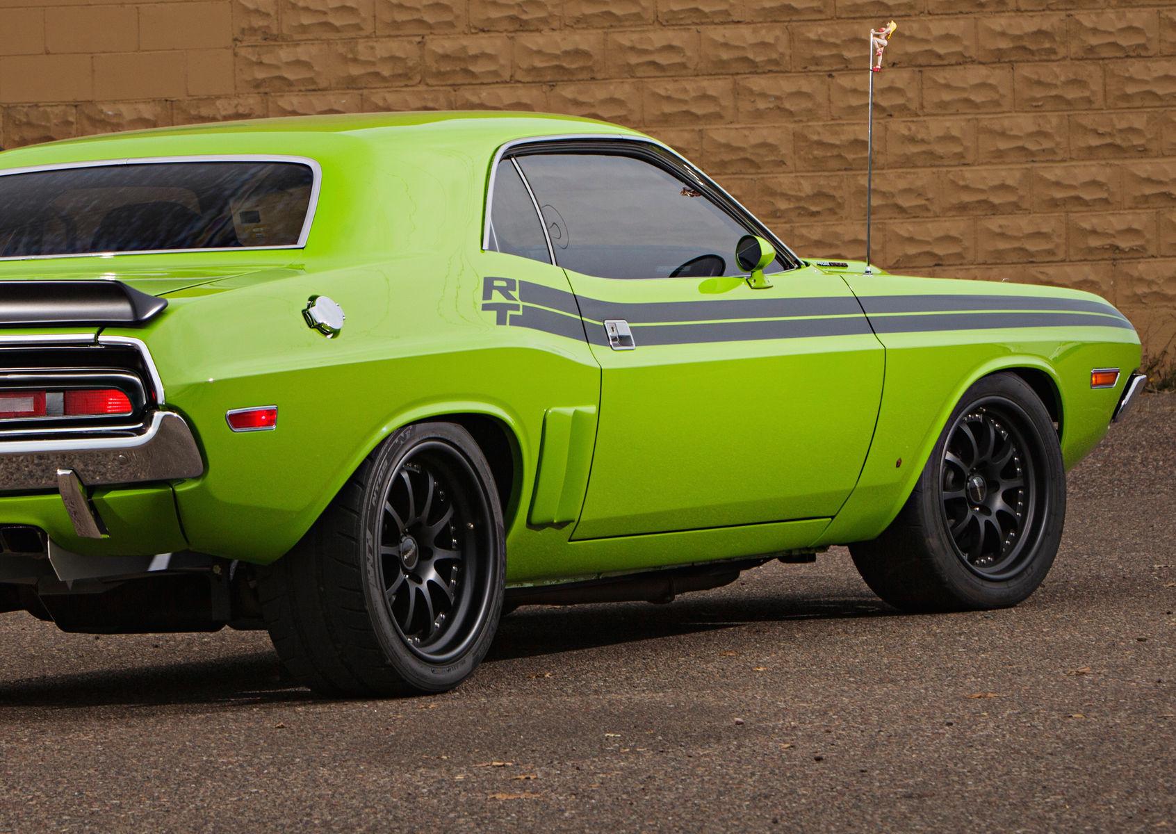 1971 Dodge Challenger | Challenger by Fast Freddies Rod Shop on Forgeline ZX3R Wheels