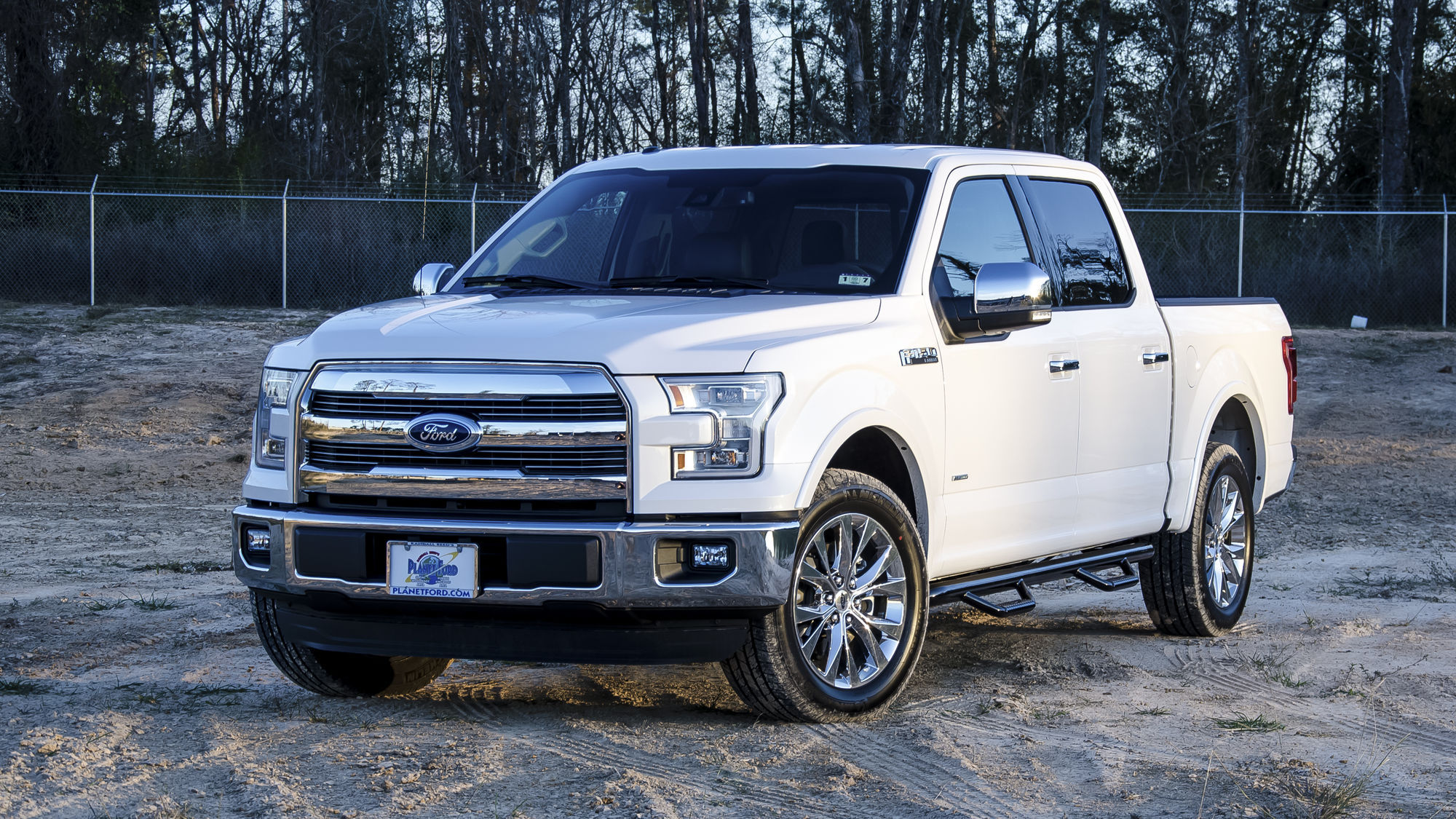 2015 Ford F-150 | N-FAB Wheel to Wheel Nerf-Step
