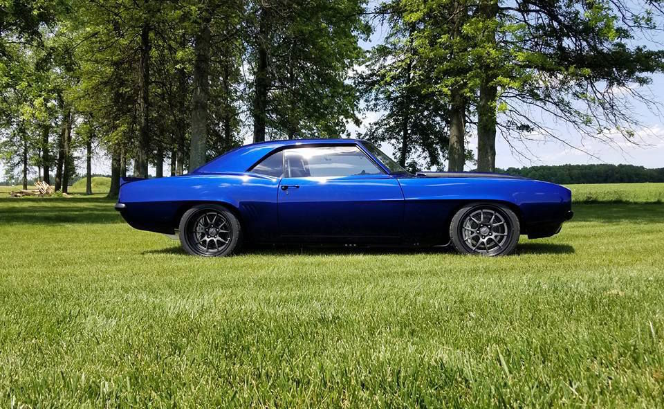 1969 Chevrolet Camaro | Alex's Blue LT4-Powered Pro-Touring '69 Camaro on Forgeline GA3R Wheels