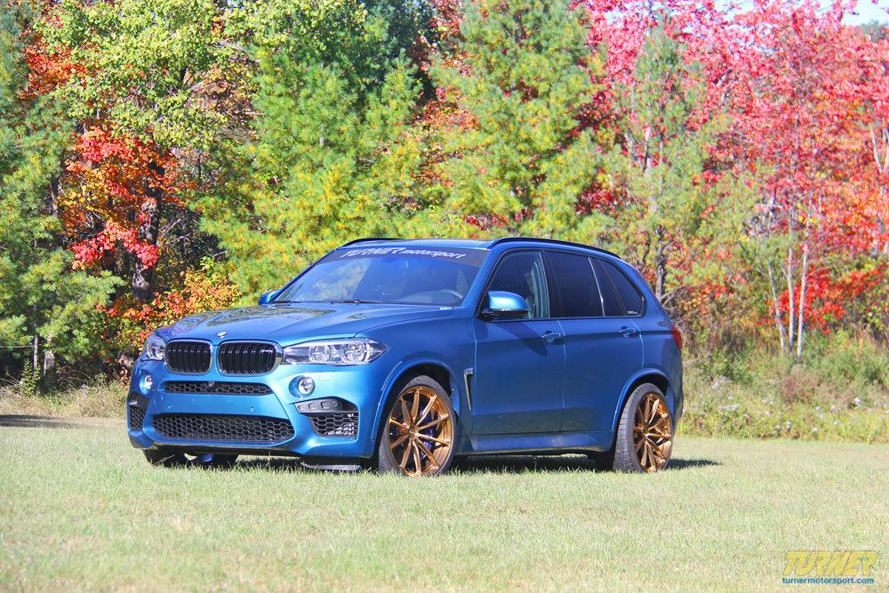 2015 BMW X5 M | Turner Motorsport BMW X5 M on Forgeline GT1 5-Lug Wheels