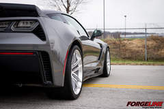 Forgeline's C7 Corvette Z06 on One Piece Forged Monoblock AR1 Wheels