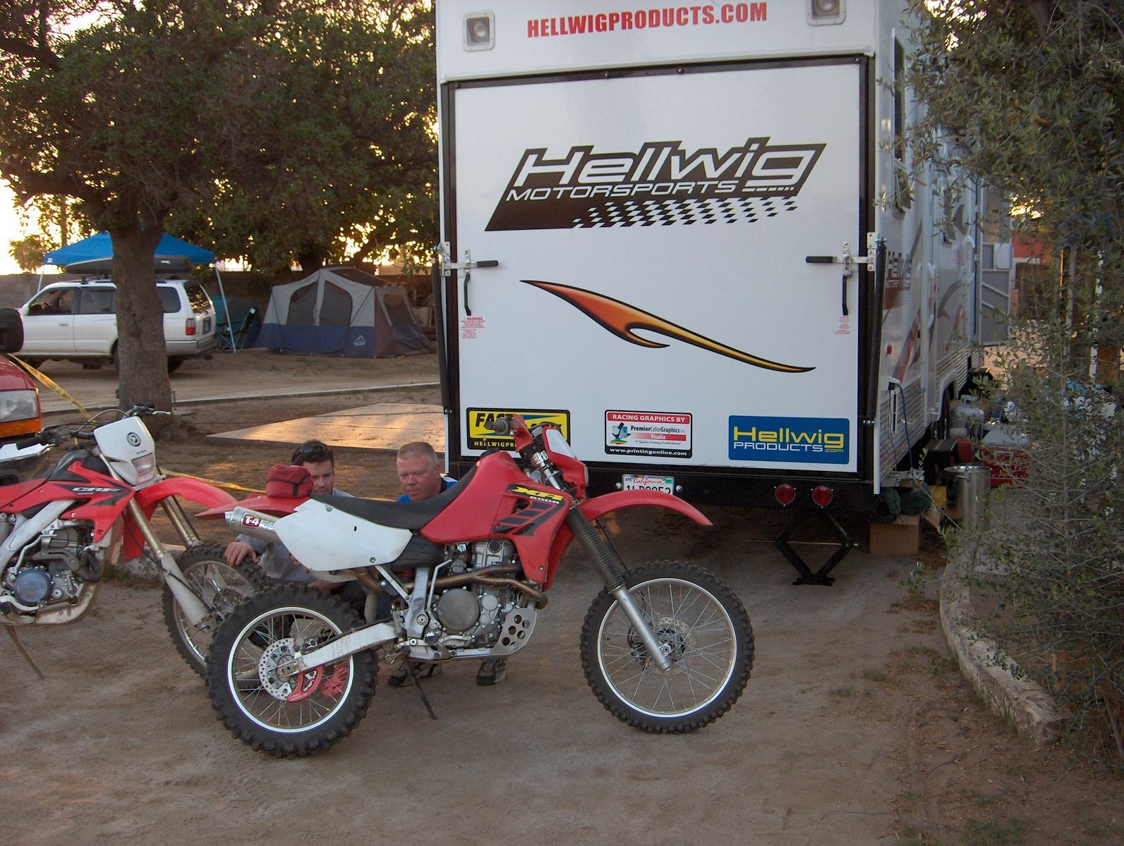Honda  | Mark's Dirt Bike