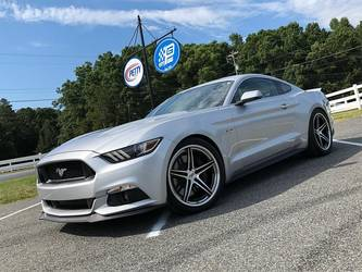 2017 Ford Mustang | Reed's 1000HP Twin Turbo Petty's Garage Ford Mustang GT on Forgeline SC3C-SL Concave Wheels
