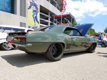 """G3 Rods' """"T-Rex"""" '69 Camaro on Forgeline SP3P Wheels at Goodguys Nashville Nationals"""