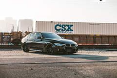 BMW 330i - Angled Side View