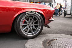 Brandon DeFazio's '69 Mustang Fastback on Forgeline RB3C Wheels
