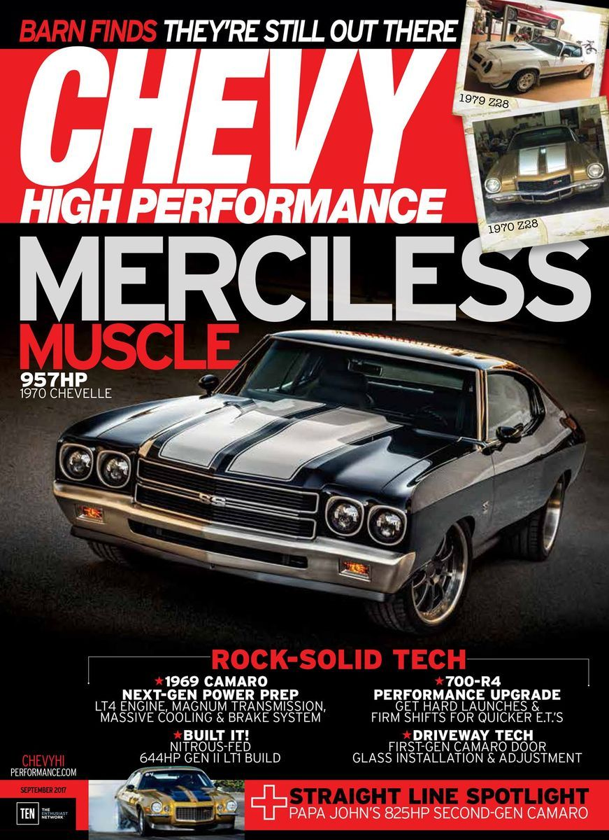 1970 Chevrolet Chevelle | Mo's Detroit Speed '70 Chevelle on the Cover of Chevy High Performance Magazine