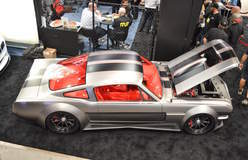 Timeless Kustoms' Vicious Widebody '65 Mustang on Forgeline GT3C Centerlock Wheels