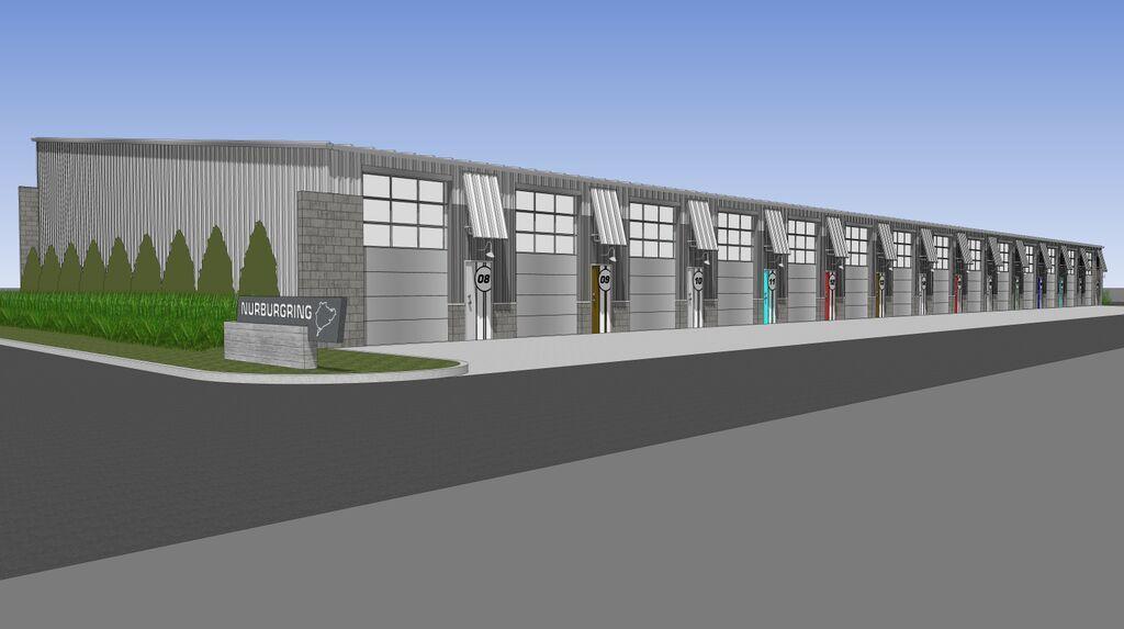 | M1 Concourse Garage Render