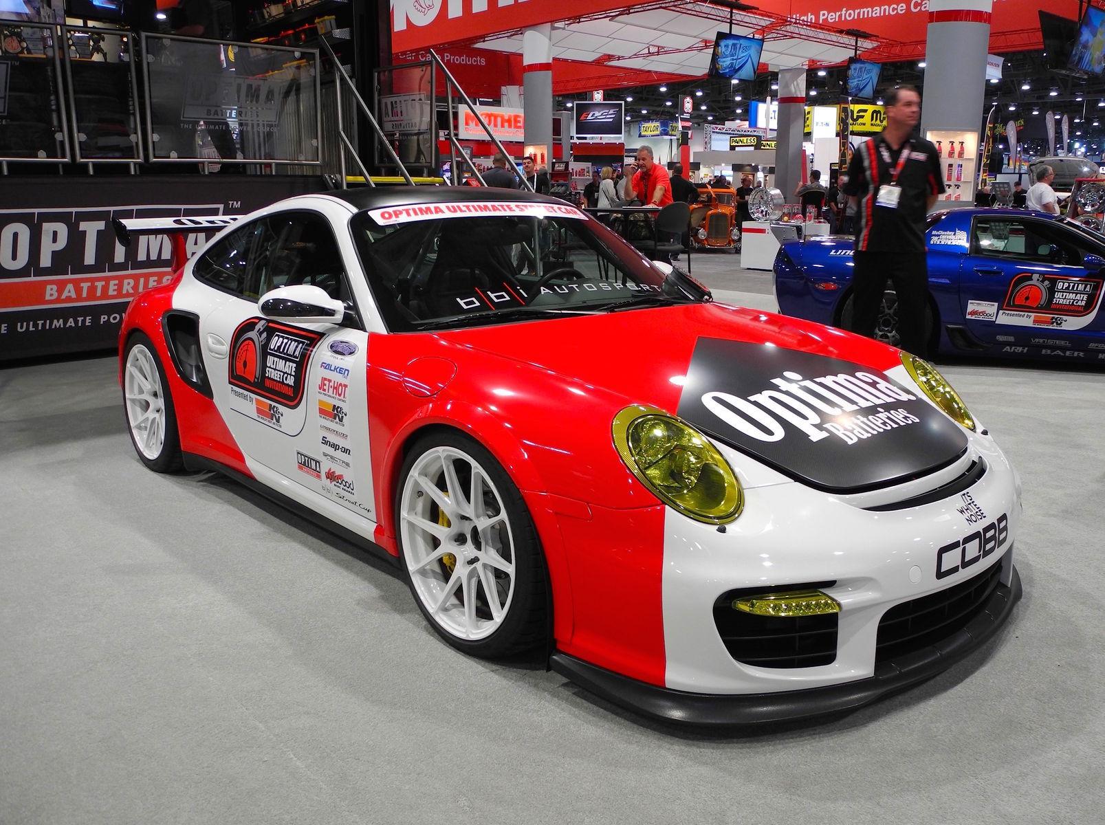 2008 Porsche 911 | BBi Autosport's 997.1 Porsche 911 Turbo on Forgeline 1pc Forged Monoblock GA1R Open Lug Wheels