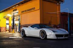 LibertyWalk Widebody Ferrari 458 Italia