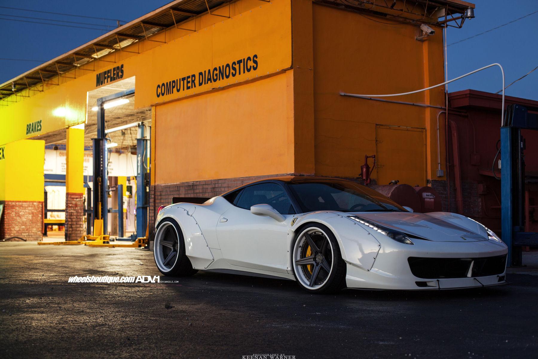 Ferrari 458 Italia |  LibertyWalk Widebody Ferrari 458 Italia