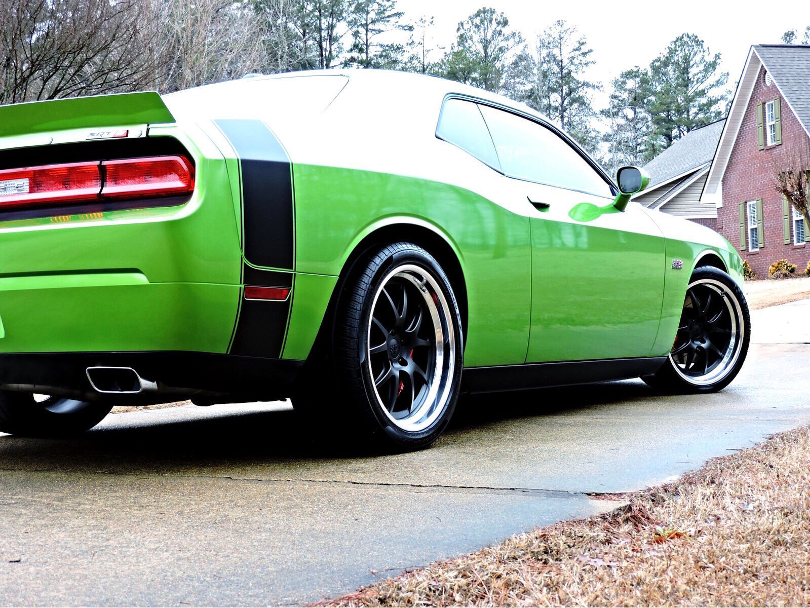 2011 Dodge Challenger |  Challenger SRT on Forgeline GA3 Wheels