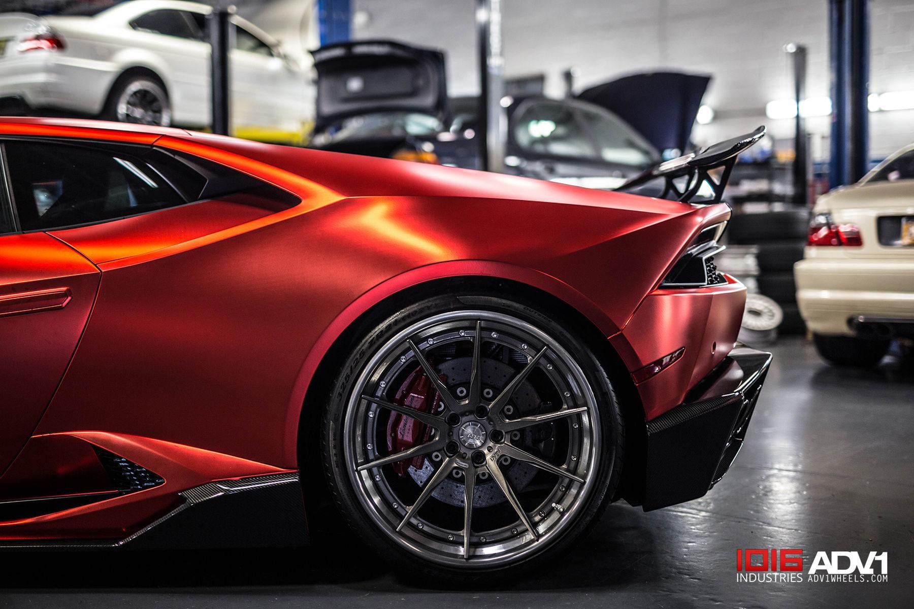 2017 Lamborghini Huracan   Satin Metallic Red Lamborghini Huracan LP610-4