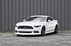 MBRP Performance Exhaust's S550 Ford Mustang GT on Forgeline One Piece Forged Monoblock AR1 Wheels
