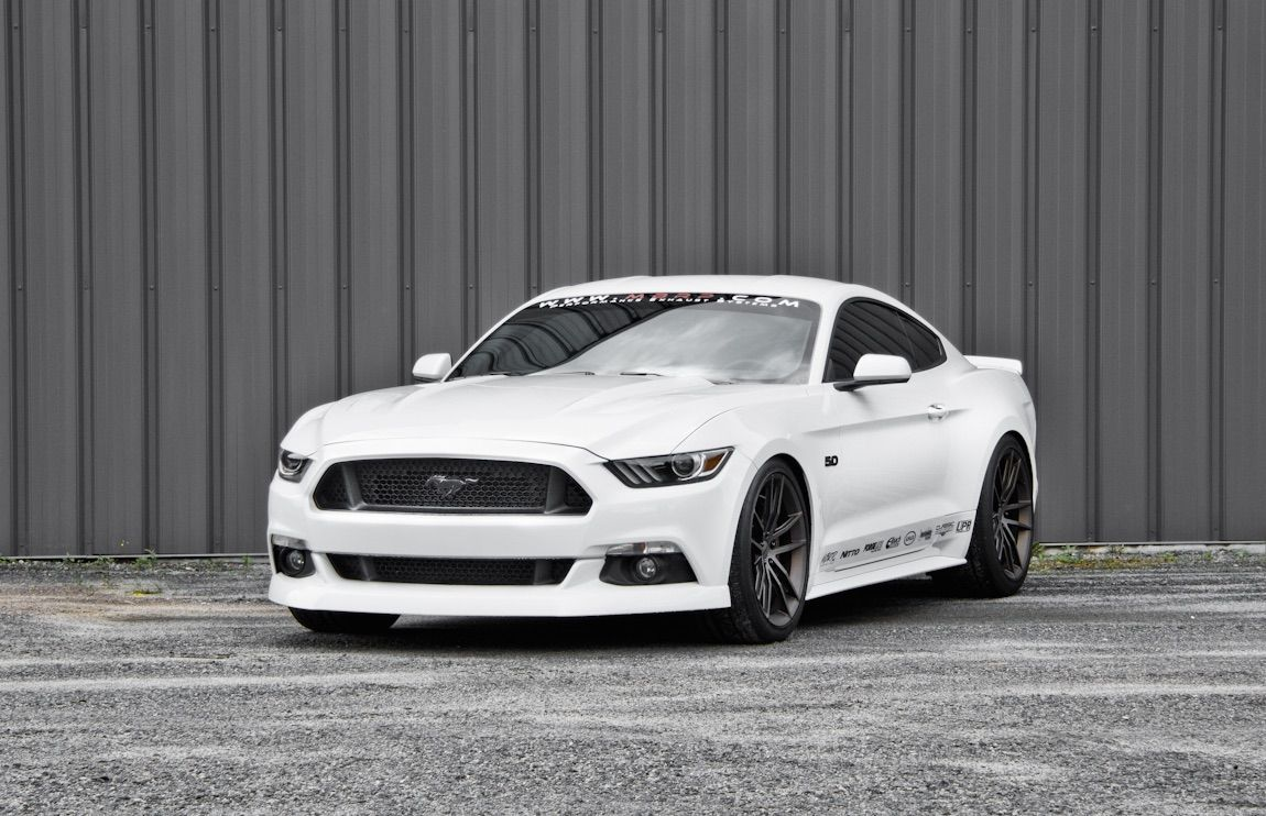 2015 Ford Mustang | MBRP Performance Exhaust's S550 Ford Mustang GT on Forgeline One Piece Forged Monoblock AR1 Wheels