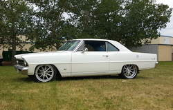 Epic Rod & Custom 1967 Chevy II on Forgeline RB3C Wheels