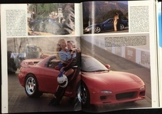 TBT Peter Farrell Supercars Mazda RX-7 on Forgeline RS Wheels, Playboy Magazine February 1996