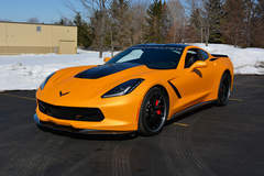 LPE C7 Corvette on Forgeline VX3C Wheels