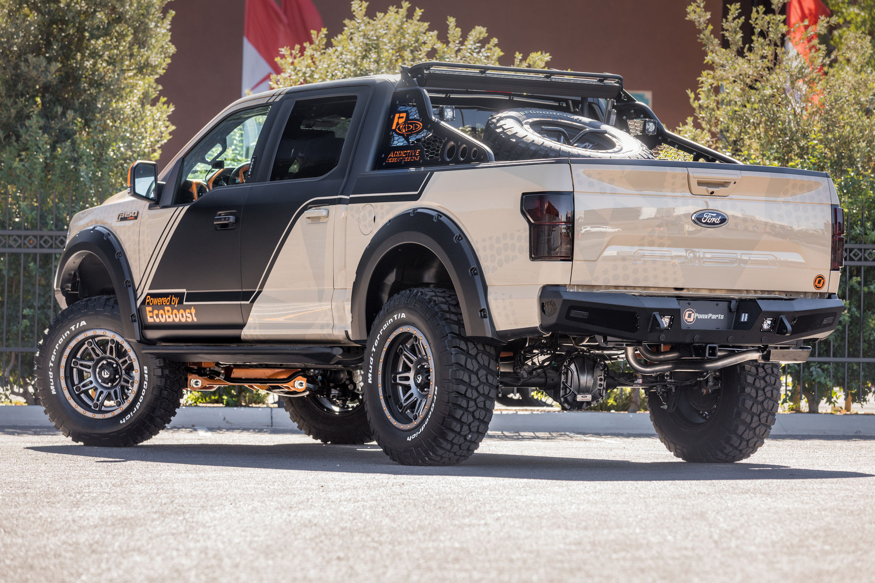 2018 Ford F-150 Lariat SuperCrew by CJ Pony Parts - Rear