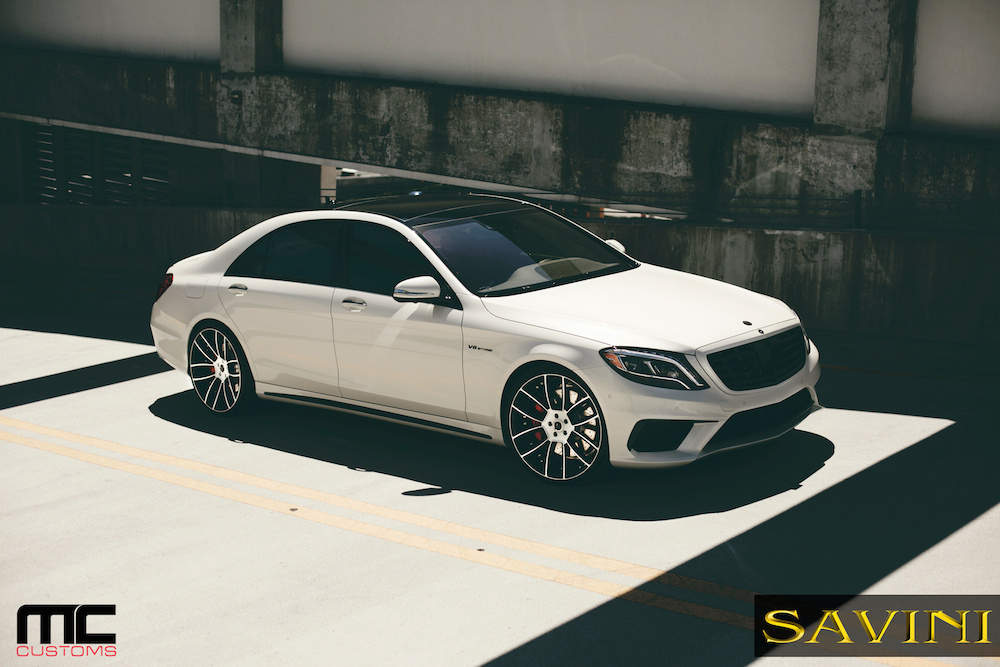 2014 Mercedes-Benz S-Class | '14 Mercedes S63 AMG on Savini Duoblock SV52's
