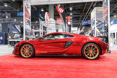 Glaswerks McLaren 570GT on Forgeline One Piece Forged Monoblock GT1 5-Lug Wheels