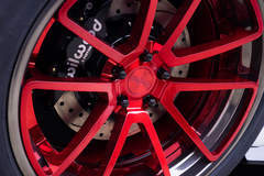 2015 Motoroso Ford Mustang GT Wheel Detail