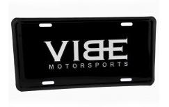 Black Aluminum Insert For License Plate