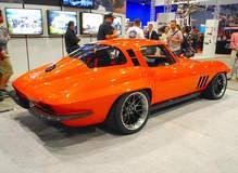 """Greg Thurmond's """"SCAR"""" '65 Corvette on Forgeline DE3C Concave Wheels"""