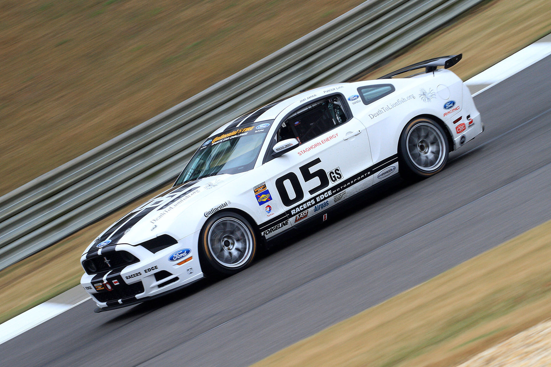 | Fierce grip coming out of the Continental Tires at Barber Motorsports Park