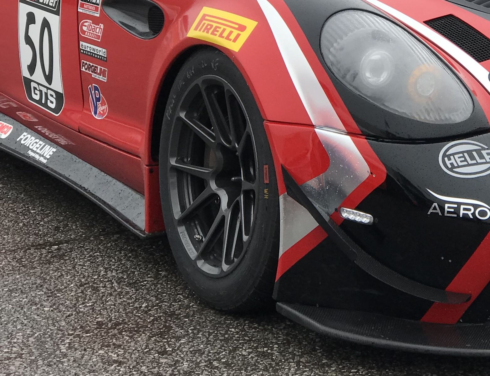 2018 Panoz    Panoz Avezzano on Forgeline GS1R Wheels Earns GTS Pole Position at CTMP