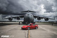 Col. Jeff McGalliard's Porsche 997 Turbo on Forgeline GA3 Wheels