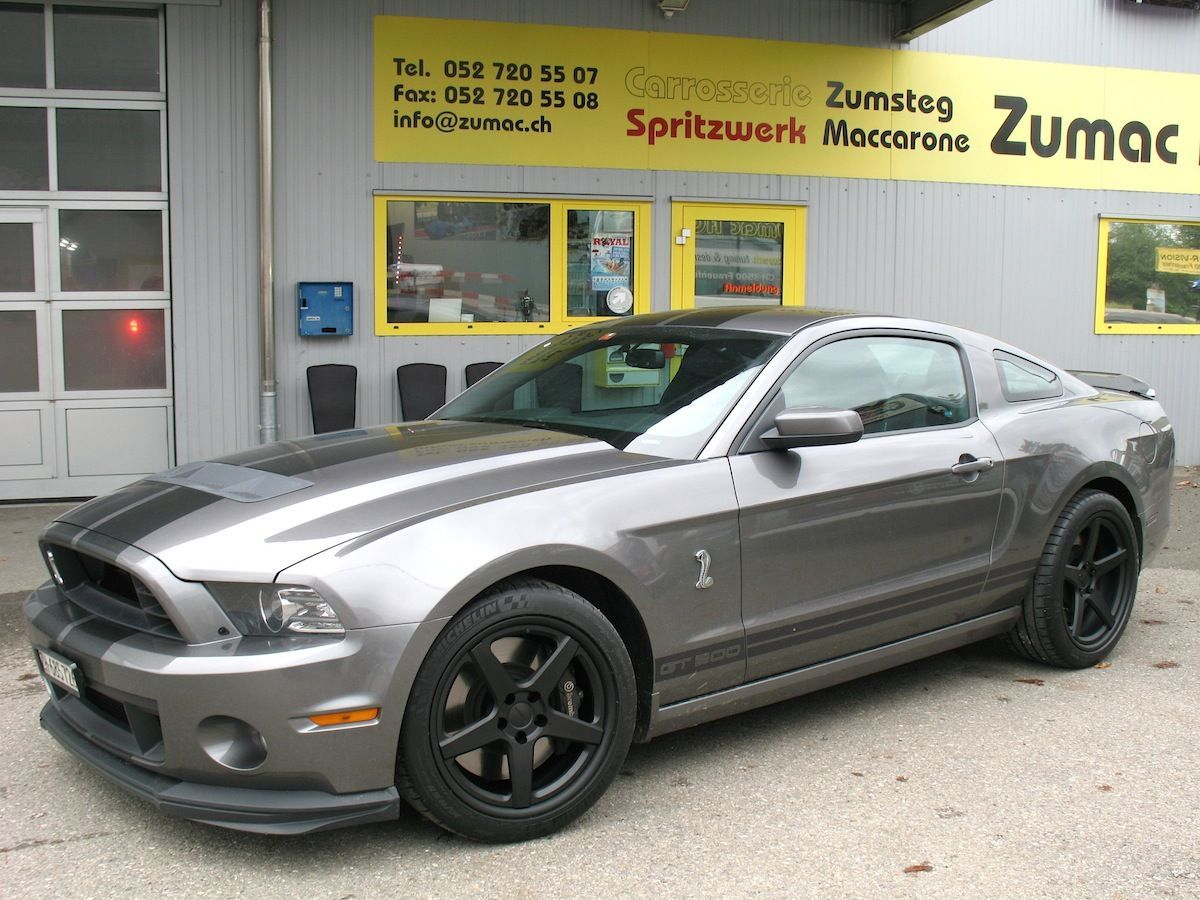 2014 Ford Shelby GT500 | Ford Shelby GT500 Mustang on Forgeline CF3C Concave Wheels