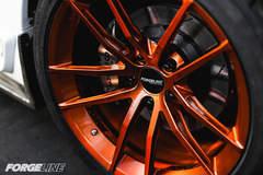 "D&Z Customs' ""DZ06"" C5 Corvette Z06 on Forgeline One Piece Forged Monoblock AR1 Wheels"