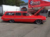 Trevor Doelling's 1961 Chevy Parkwood Wagon on Forgeline RB3C Wheels