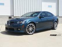 Ryan Egleston's Pontiac G8 on Forgeline ZX3P Chrome Wheels