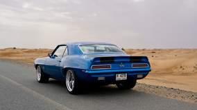 Salem Ali's '69 Camaro on Forgeline GA3 Wheels