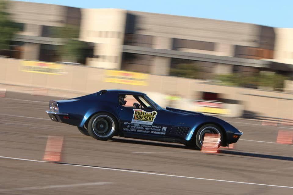 1972 Chevrolet Corvette | Danny Popp Wins 2015 AutoCrosser of the Year in His '72 Corvette LT1 on Forgeline GA3R Wheels