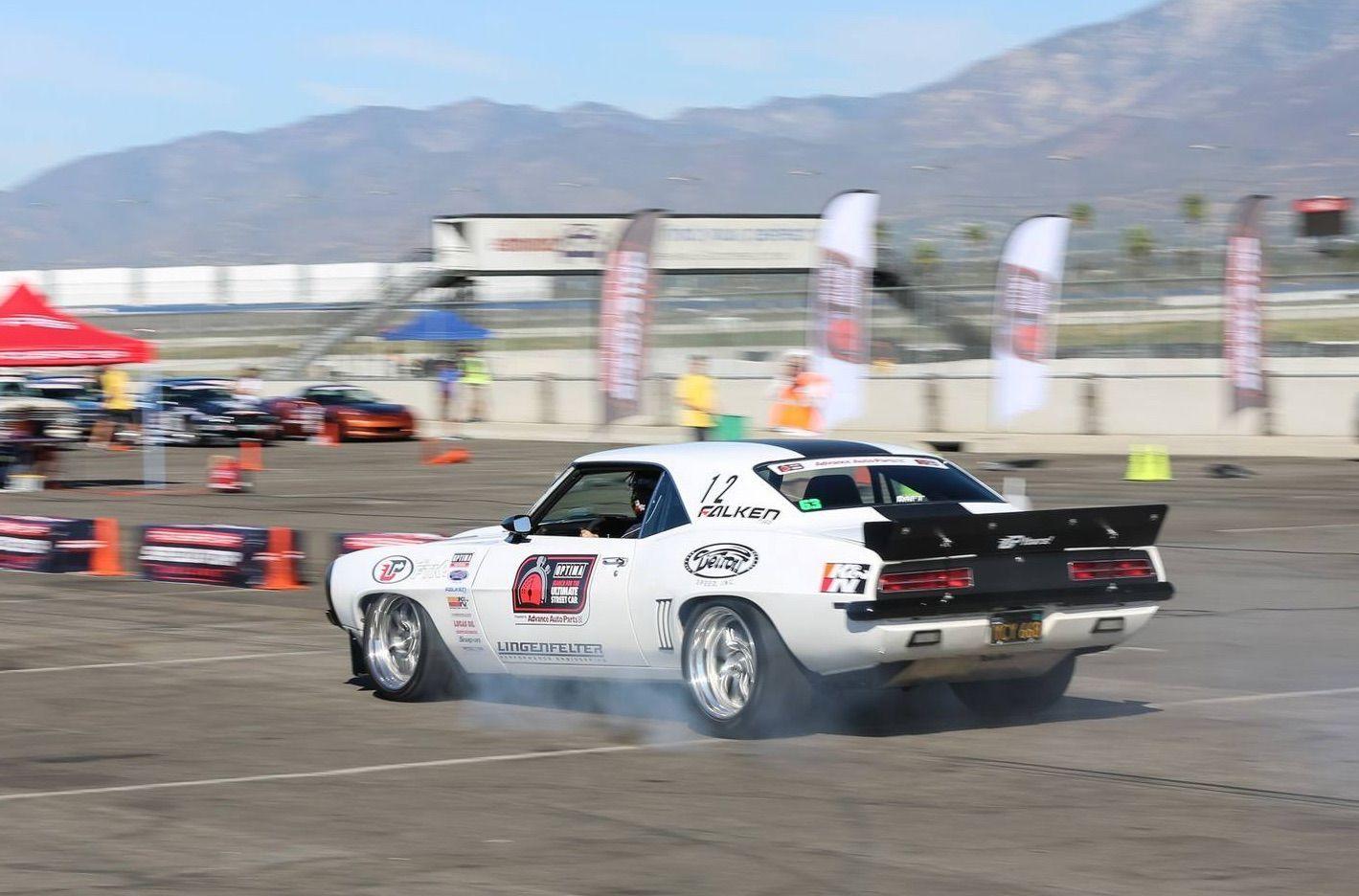 1969 Chevrolet Camaro | Jake Rozelle Wins GTV Class at USCA Fontana and Clinches 2016 GTV Season Points Championship
