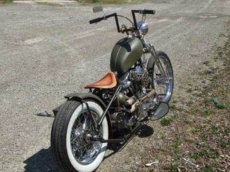 custom+chopper+old+military+style