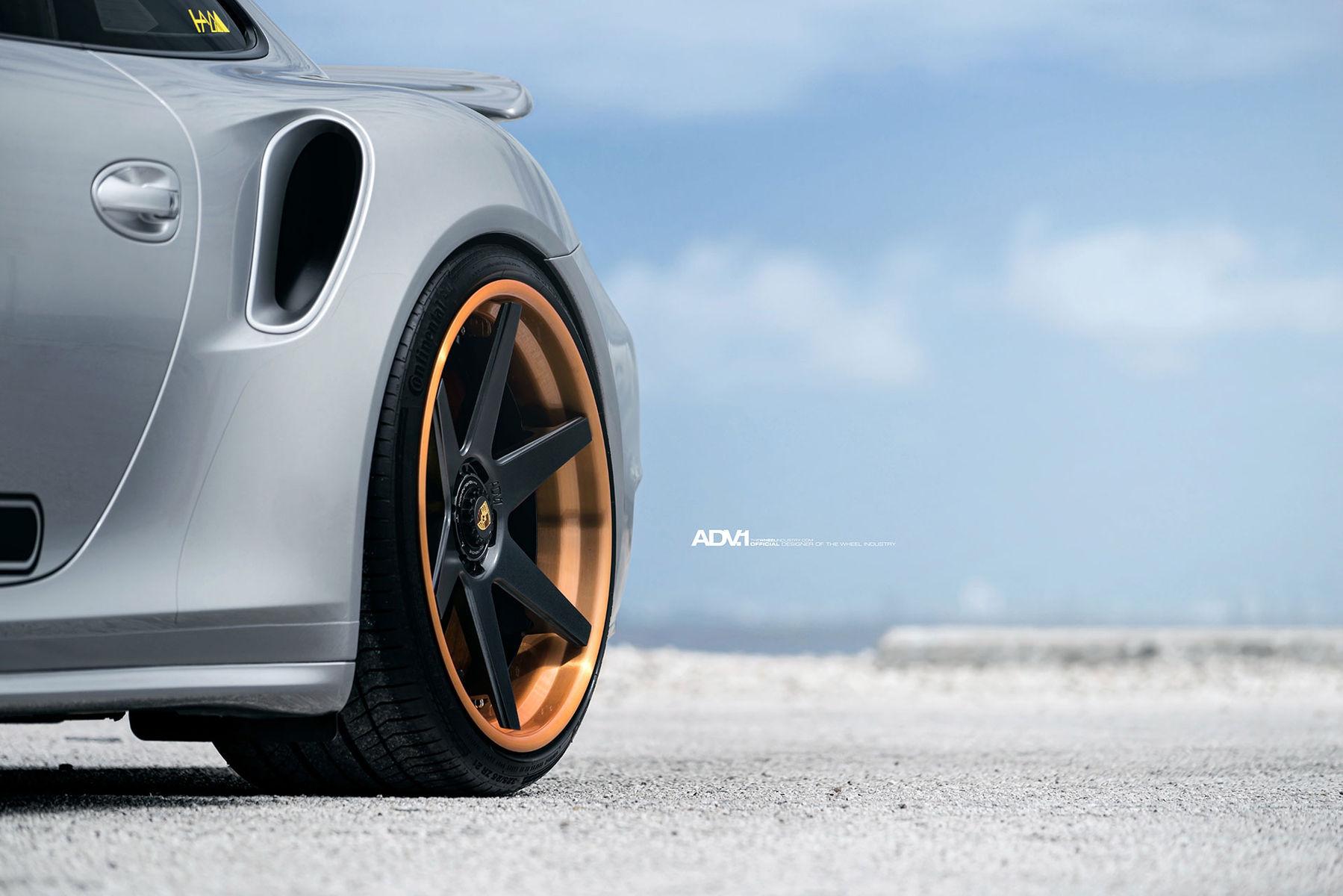 2016 Porsche 911 | Porsche 991 Turbo S - ADV6 Track Spec Standard Series