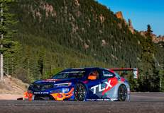 RealTime Racing's Acura TLX-GT to Tackle Pikes Peak on Forgeline One Piece Forged Monoblock GTD1 Wheels