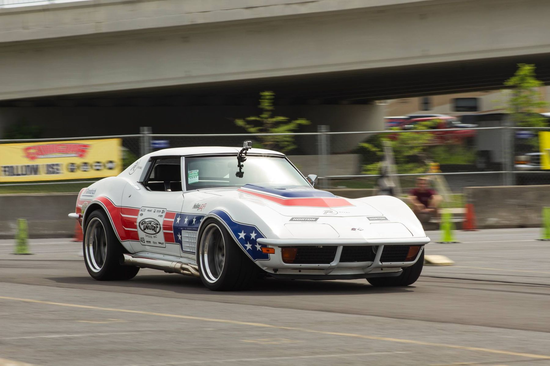 1972 Chevrolet Corvette Stingray | Ryan Mathews Wins Goodguys Nashville Nationals Autocross Shootout on Forgeline GA3 Wheels
