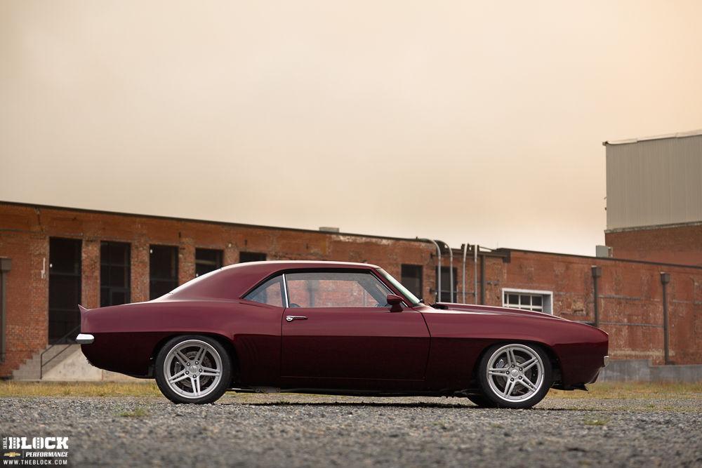 1969 Chevrolet Camaro   Man Made Legends Keith Sultana's '69 Camaro on SC3C Wheels