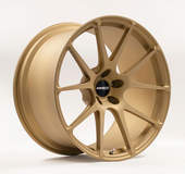 Forgeline One Piece Forged Monoblock GA1R Extra Deep Cap Wheel in Matte Gold