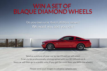 COMPETETION TIME - Win a Set of Blaque Diamond Wheels